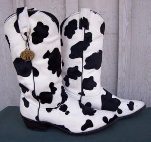 j chisholm COW cowboy boots