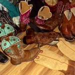 Cowboy Boots in the Closet
