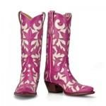 Pink Women's Cowboy Boots