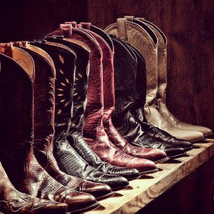 something about cowboy boots