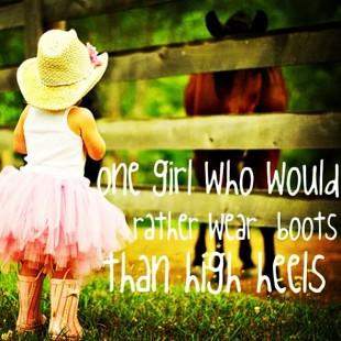 girls love cowboy boots