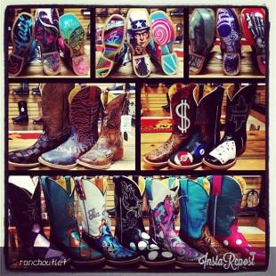 tin haul cowboy boots