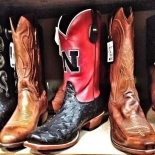 nebraska cornhuskers cowboy boots