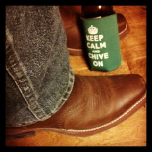 the chive cowboy boots
