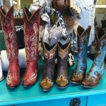 The Red Cowboy Boots Please !!!