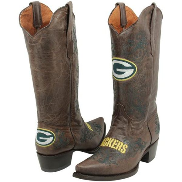 Green Bay Packers Cowboy Boots