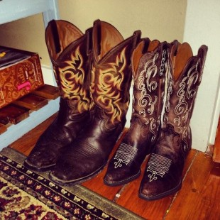 his and her cowboy boots