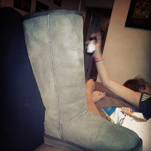 uggs are not cowboy boots