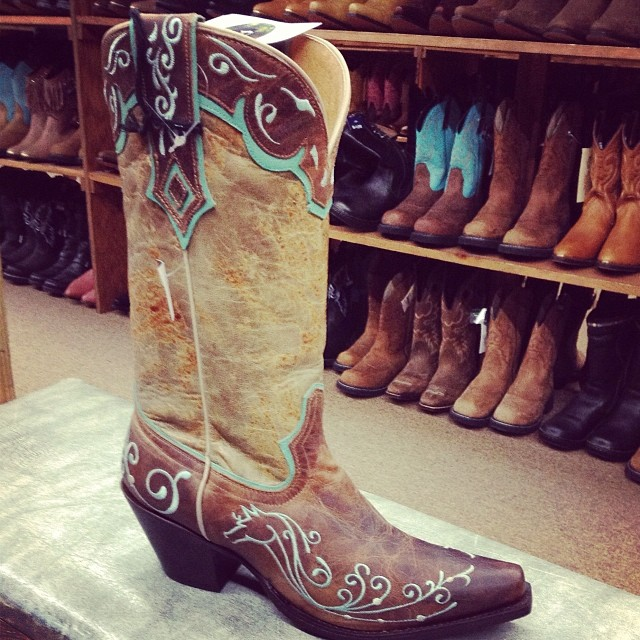 One size does not fit all when it comes to cowboy boots. These boots come in short styles that reach just above the ankle; medium heights that go to