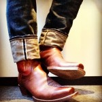 Lucchese Cowboy Boots and Jeans