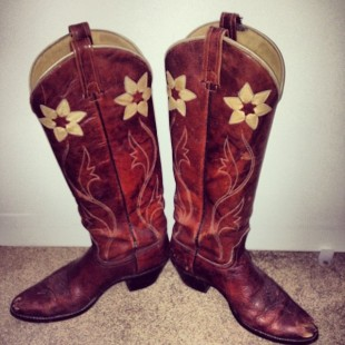 cool vintage cowgirl boots