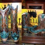 Turquoise Corral Cowgirl Boots