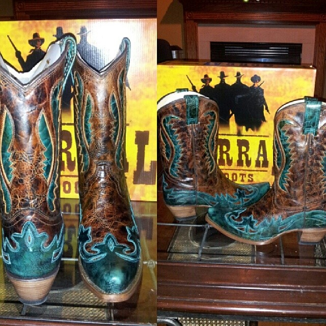 gorgeous corral cowgirl boots