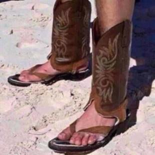 hawaiian cowboy boots
