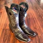 Amazing Exotic Cowboy Boots