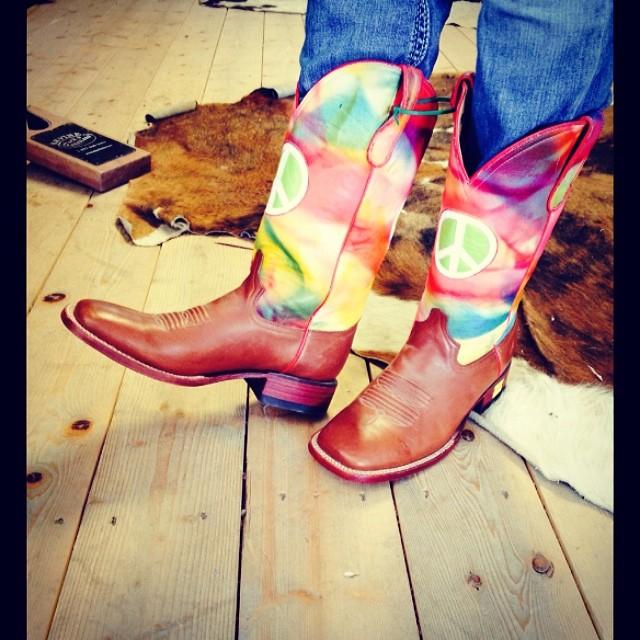 hippie cowboy boots