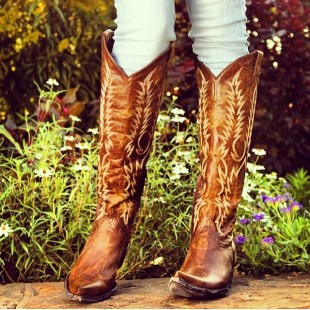 hot hot cowgirl boots