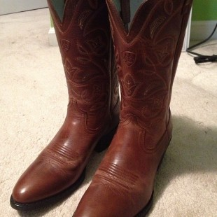 new brown ariat cowgirl boots