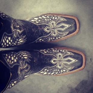 sassy corral cowboy boots