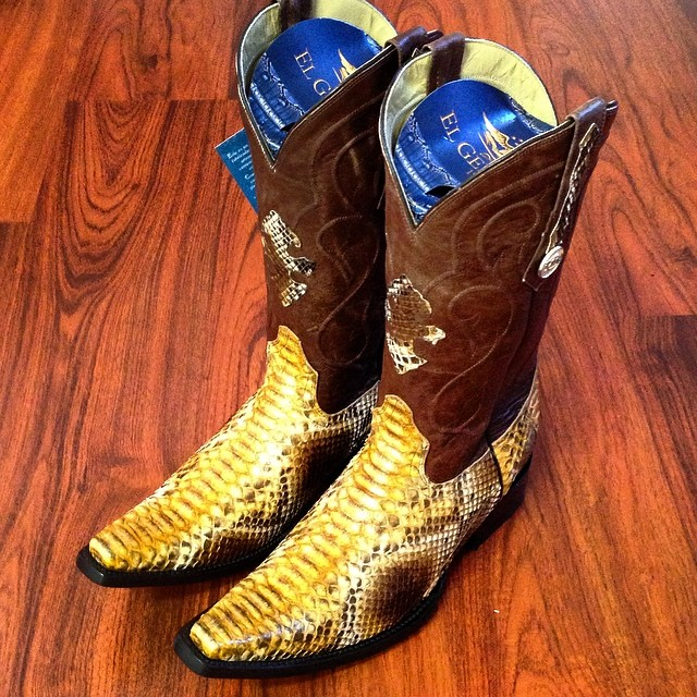 Python Cowboy Boots