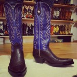 Cowboy Boots with Eyes