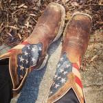 United States Flag Cowboy Boots