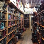 Rows, Rows and Rows of Boots