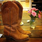 Cowgirl Boots + Roses