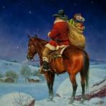 Santa on a Horse