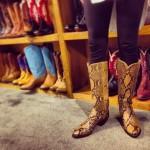 Nice Python Boots Girl!