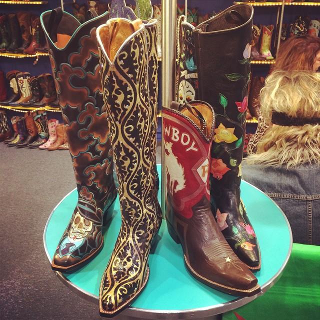 wow nice boots!