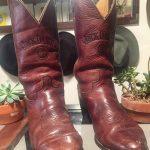 Vintage Jack Daniels cowboy boots