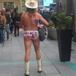 The Naked Cowboy from New York City. ROFL