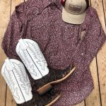 Nice cowboy boots and western outfit from Texas Boot Company