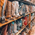 Who is shopping for cowboy boots? Talk about boot Heaven!